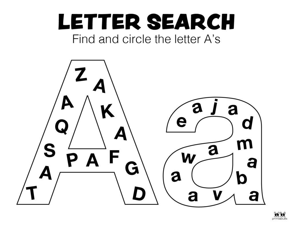 Letter A Worksheet-Page 46