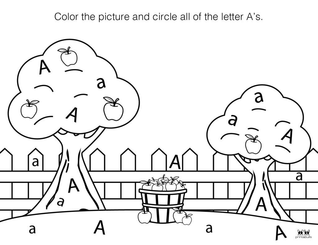 Letter A Worksheet-Page 47