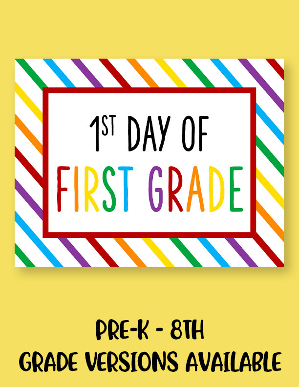 Printable-First-Day-of-School-Sign-Set-14