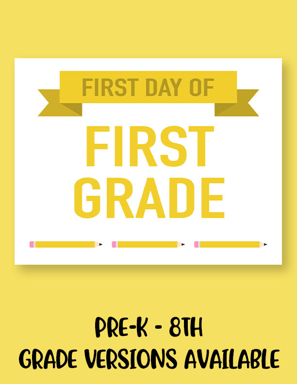 Printable-First-Day-of-School-Sign-Set-2