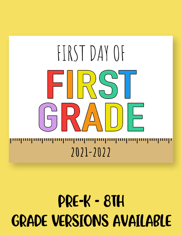 Printable-First-Day-of-School-Sign-Set-3
