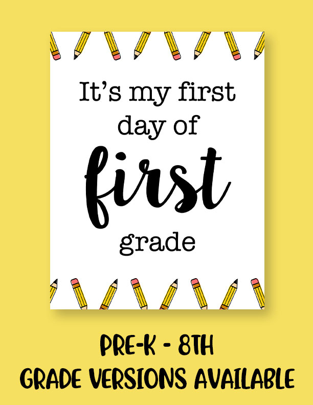 Printable-First-Day-of-School-Sign-Set-7