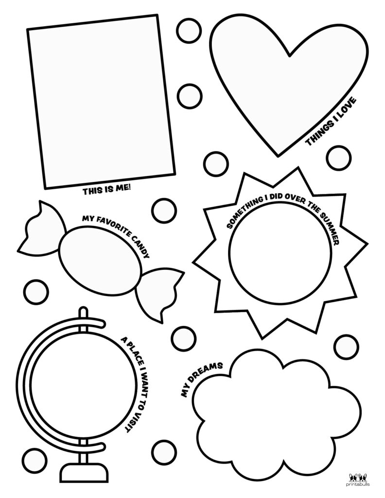Printable All About Me Worksheet-Page 18