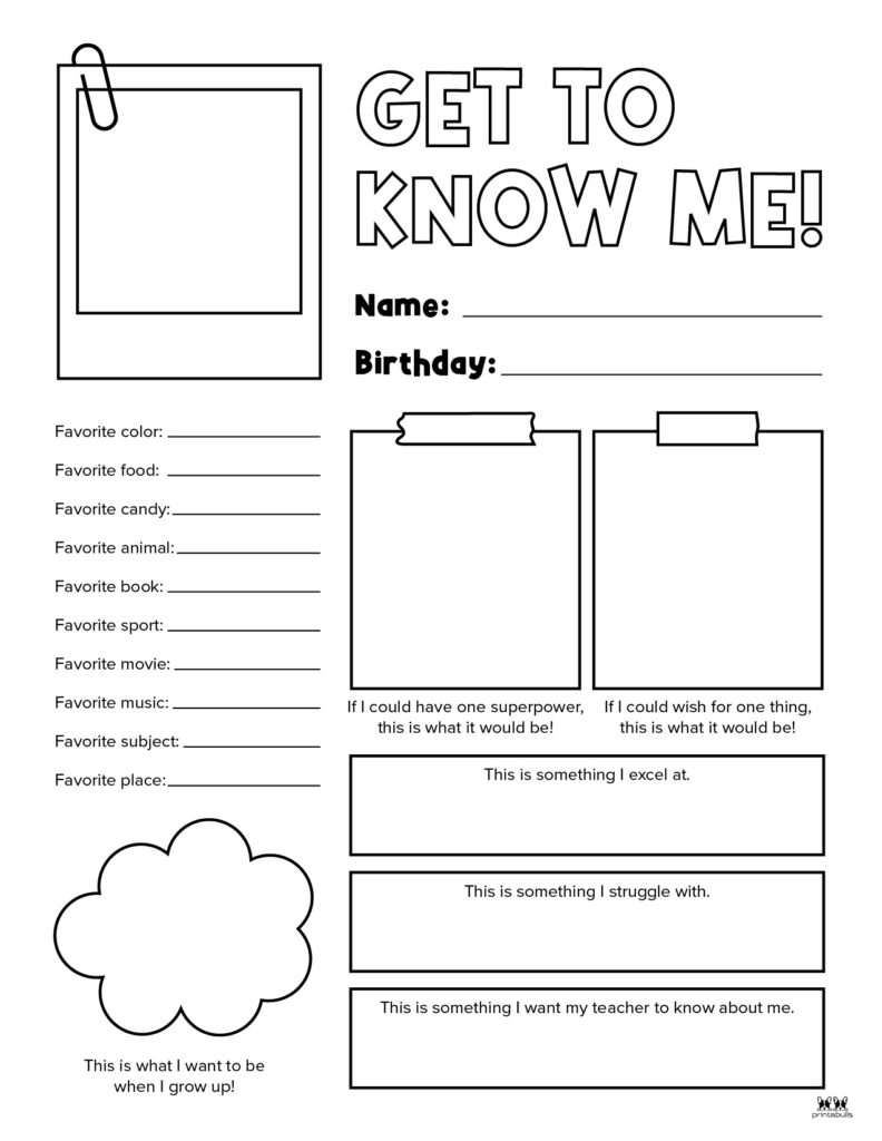 Printable All About Me Worksheet-Page 23