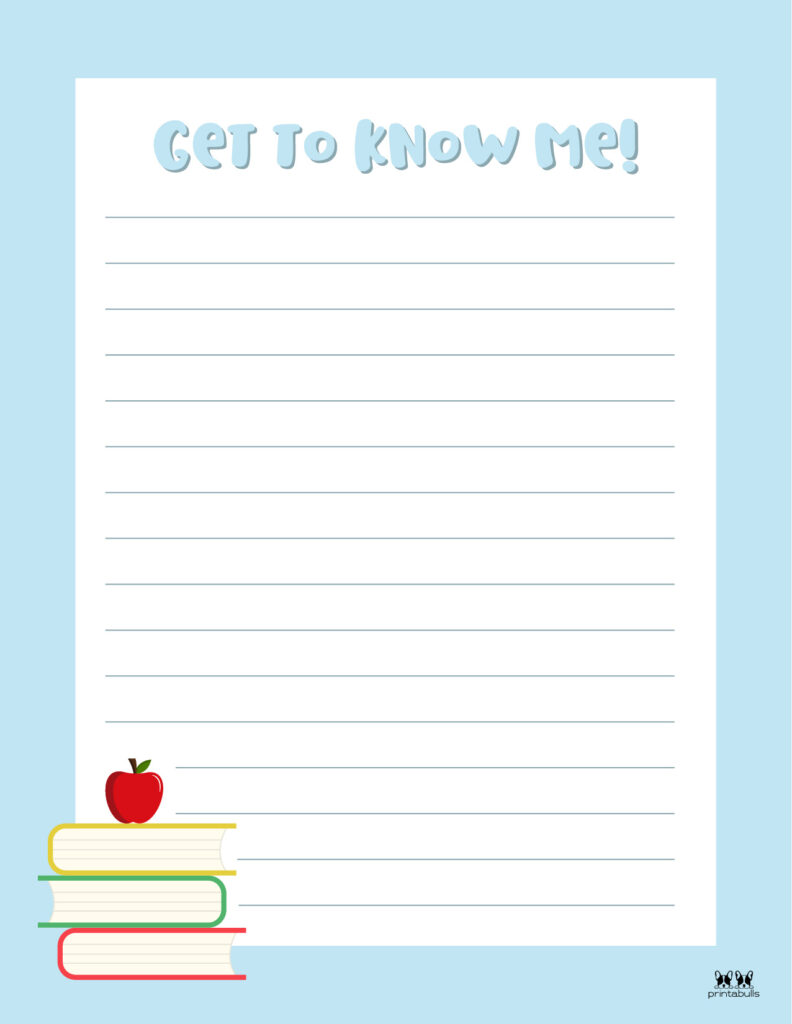 Printable All About Me Worksheet-Page 25