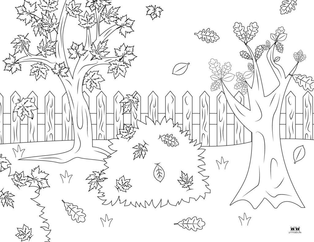Printable Leaf Coloring Page-Page 10