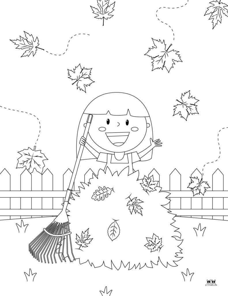 Printable Leaf Coloring Page-Page 12