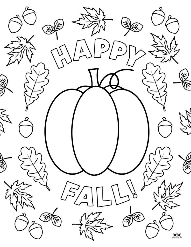 Printable Leaf Coloring Page-Page 2