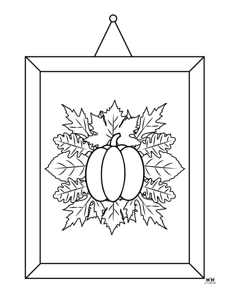 Printable Leaf Coloring Page-Page 3