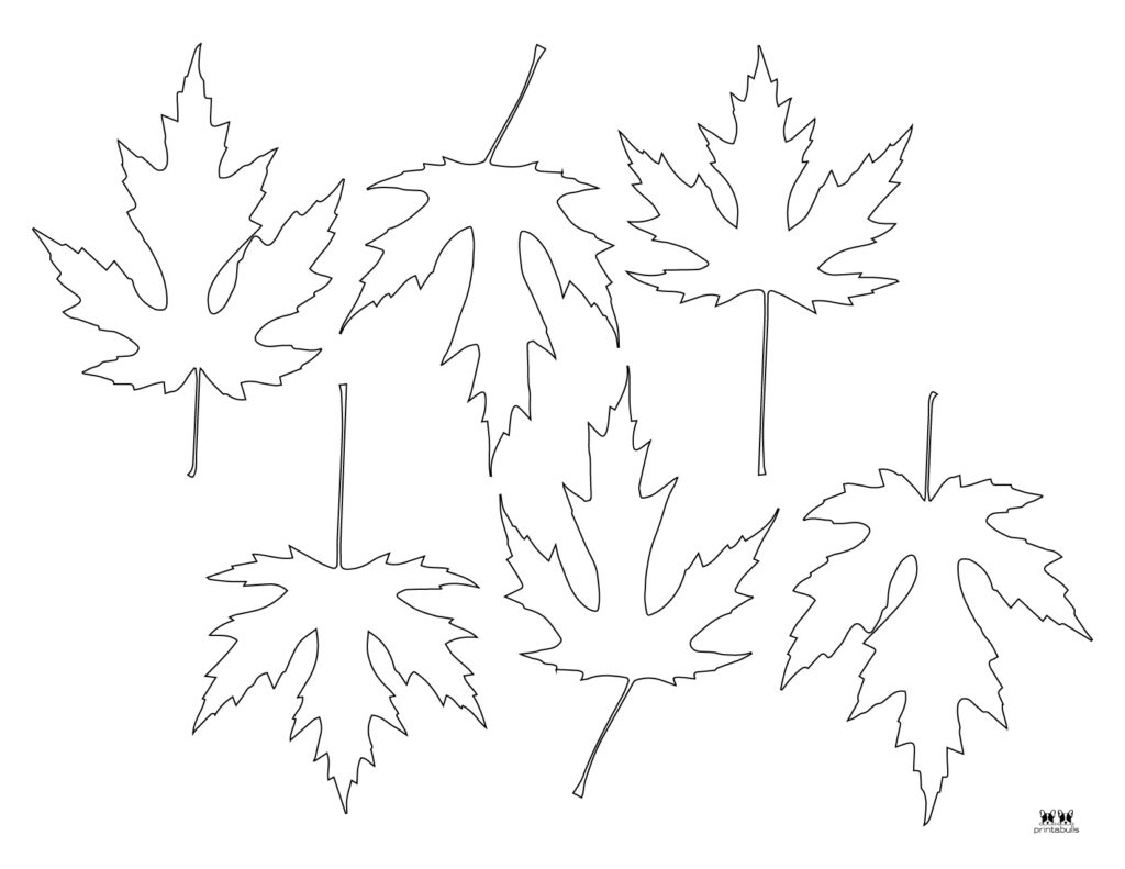 Printable Leaf Template-Page 18