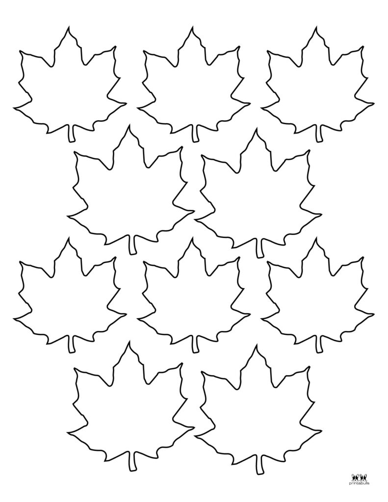 Printable Leaf Template-Page 20