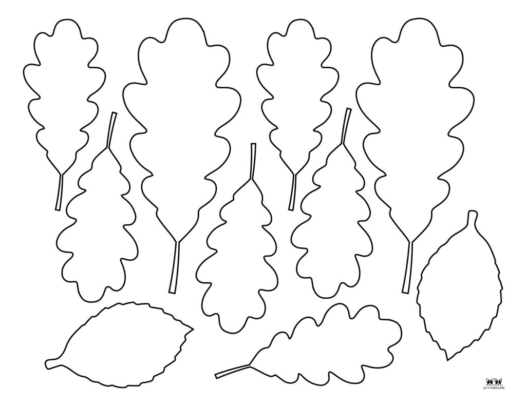 Printable Leaf Template-Page 24
