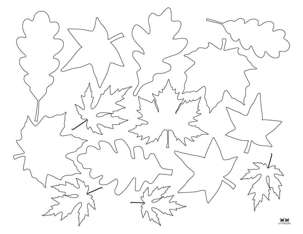 Printable Leaf Template-Page 25