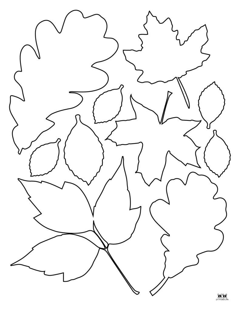 Printable Leaf Template-Page 26