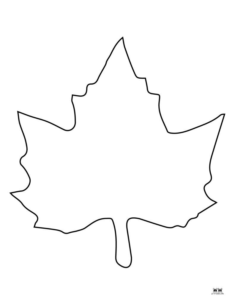 Printable Leaf Template-Page 3