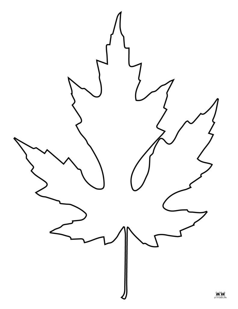 Printable Leaf Template-Page 5