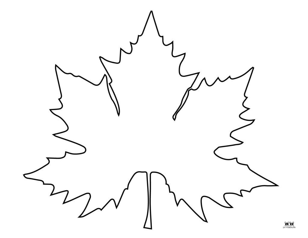 Printable Leaf Template-Page 7