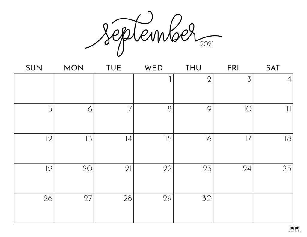Fastest September 20 Calendar Image