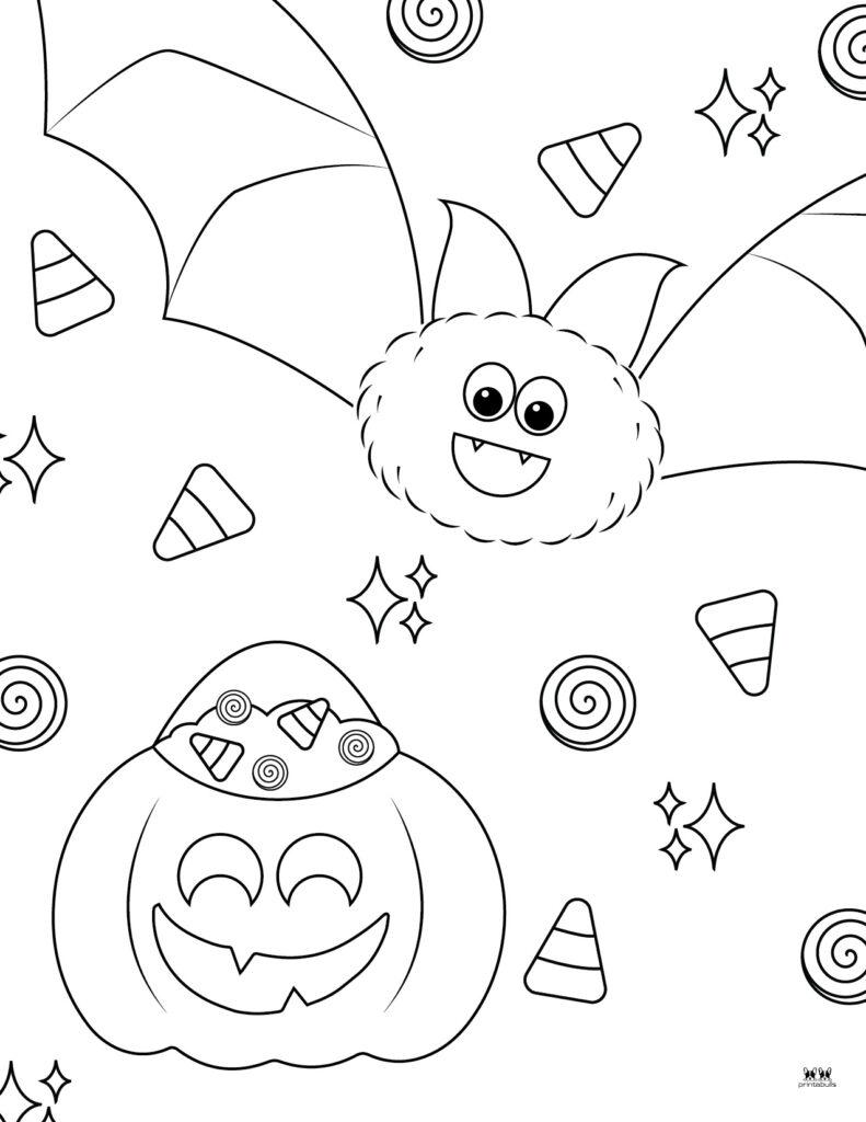 Printable Bat Coloring Page_Page 10