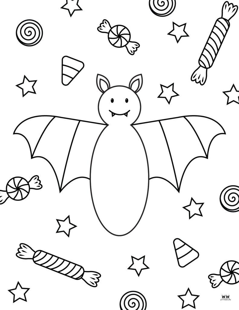 Printable Bat Coloring Page_Page 11