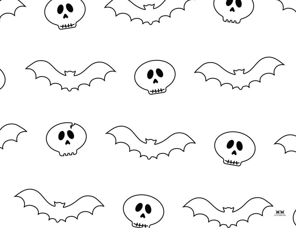 Printable Bat Coloring Page_Page 13