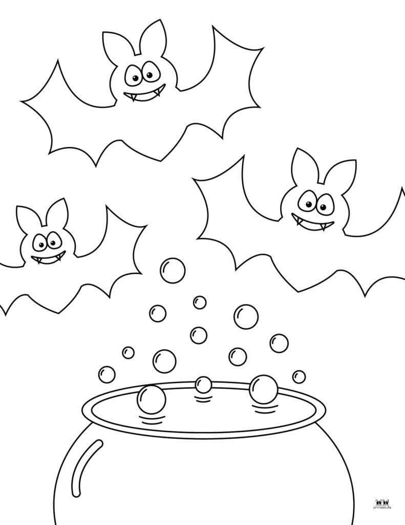 Printable Bat Coloring Page_Page 16