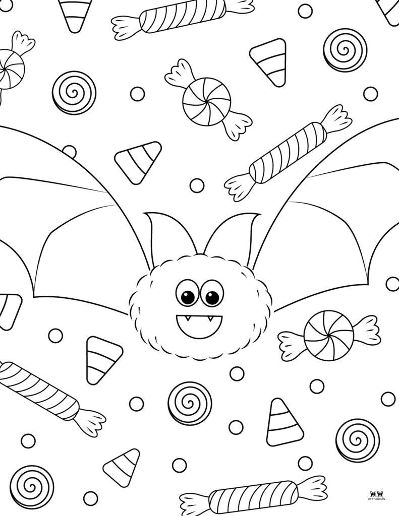 Printable Bat Coloring Page_Page 17