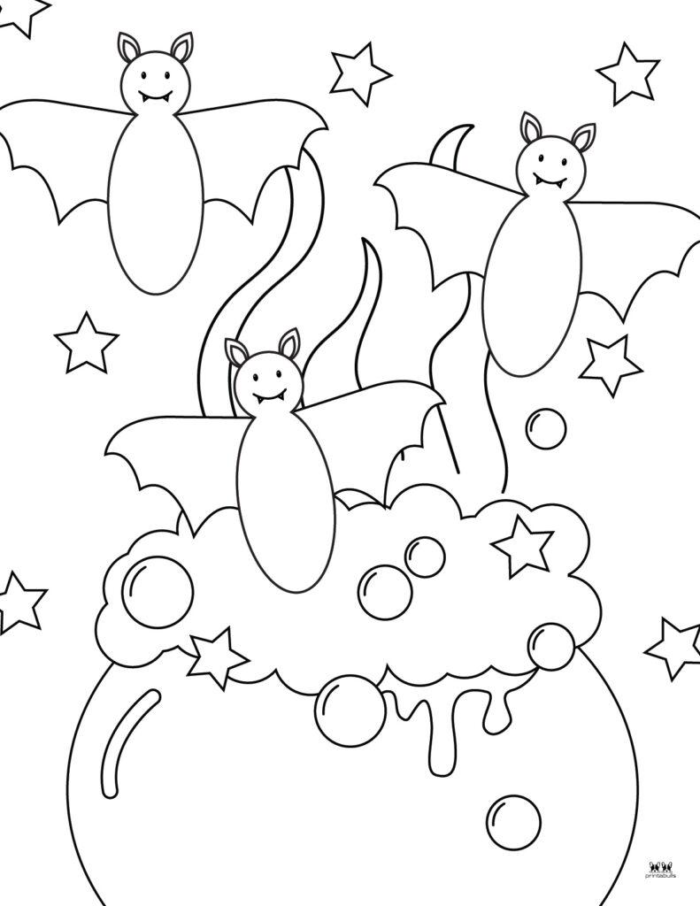 Printable Bat Coloring Page_Page 18