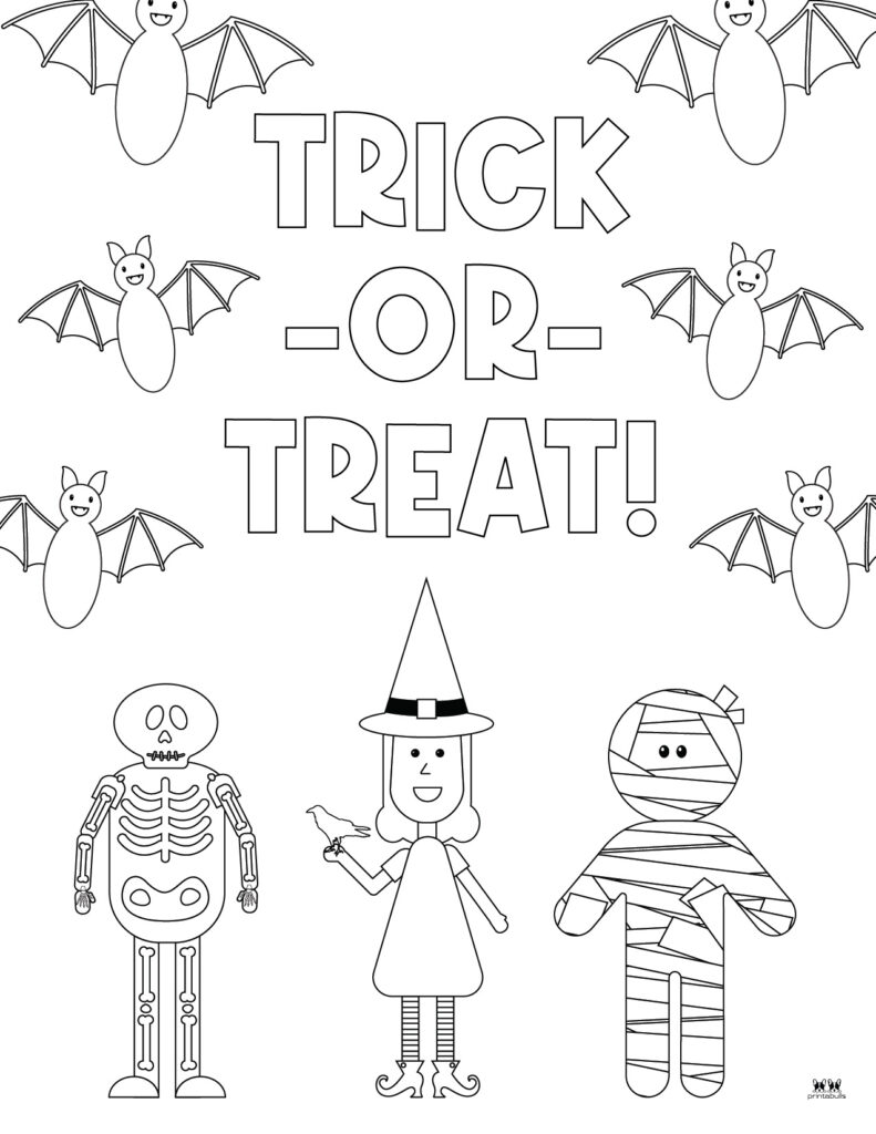 Printable Bat Coloring Page_Page 20