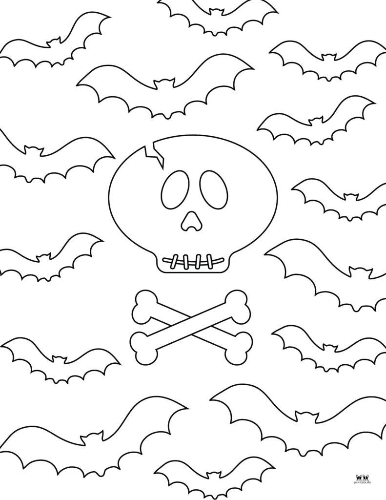 Printable Bat Coloring Page_Page 24