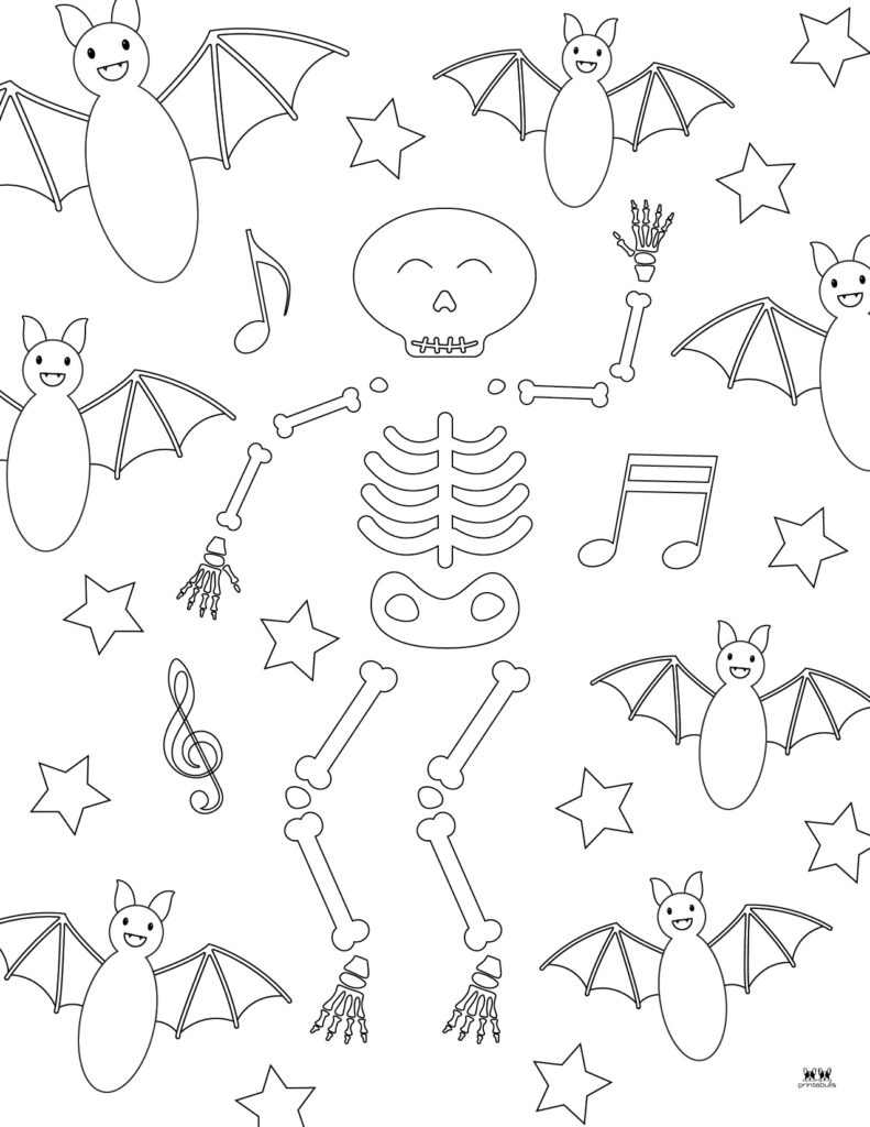 Printable Bat Coloring Page_Page 26