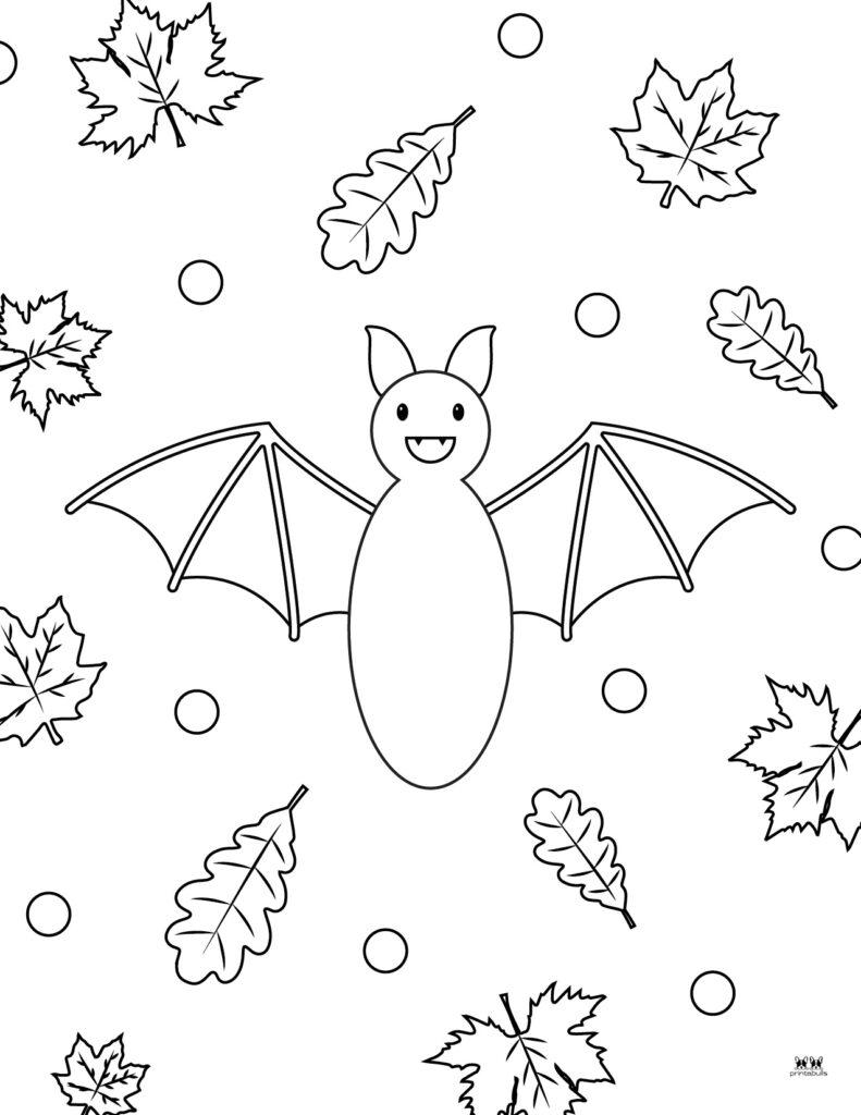 Printable Bat Coloring Page_Page 28