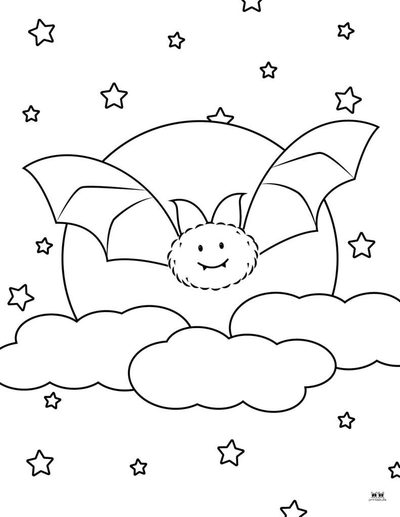 Printable Bat Coloring Page_Page 3