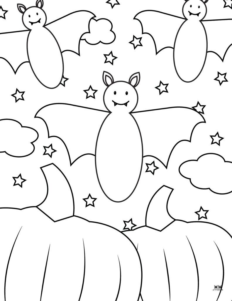Printable Bat Coloring Page_Page 30