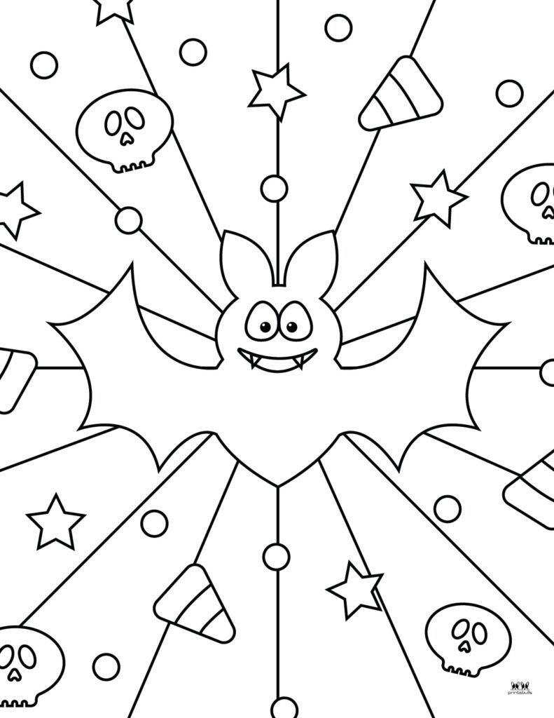 Printable Bat Coloring Page_Page 35