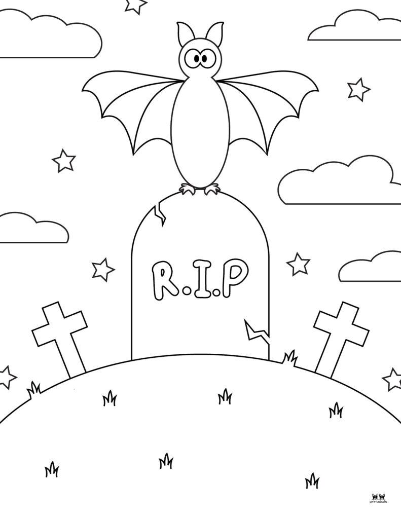 Printable Bat Coloring Page_Page 5
