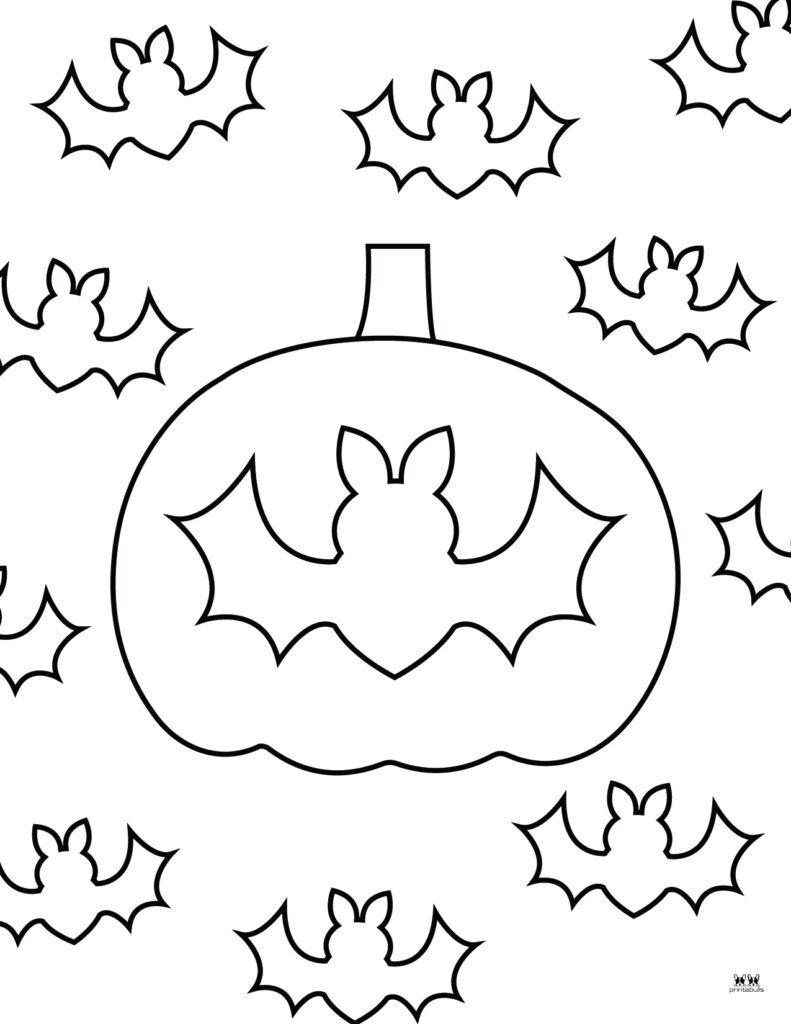 Printable Bat Coloring Page_Page 6
