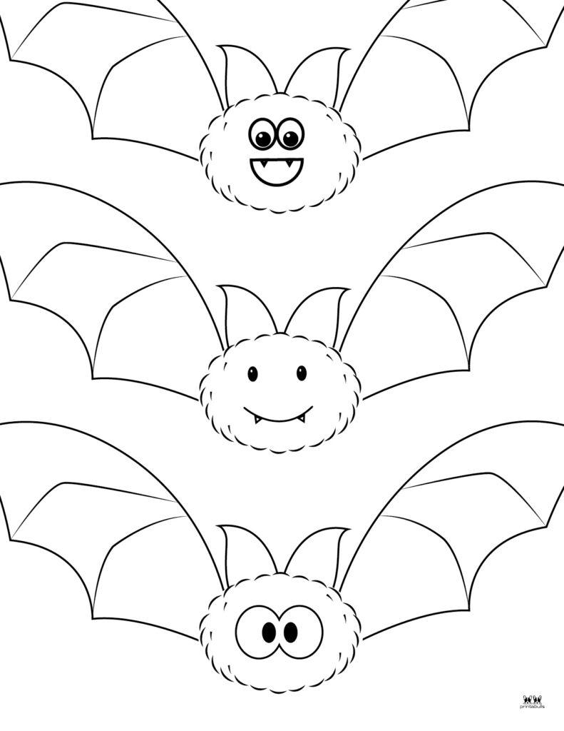Printable Bat Coloring Page_Page 9